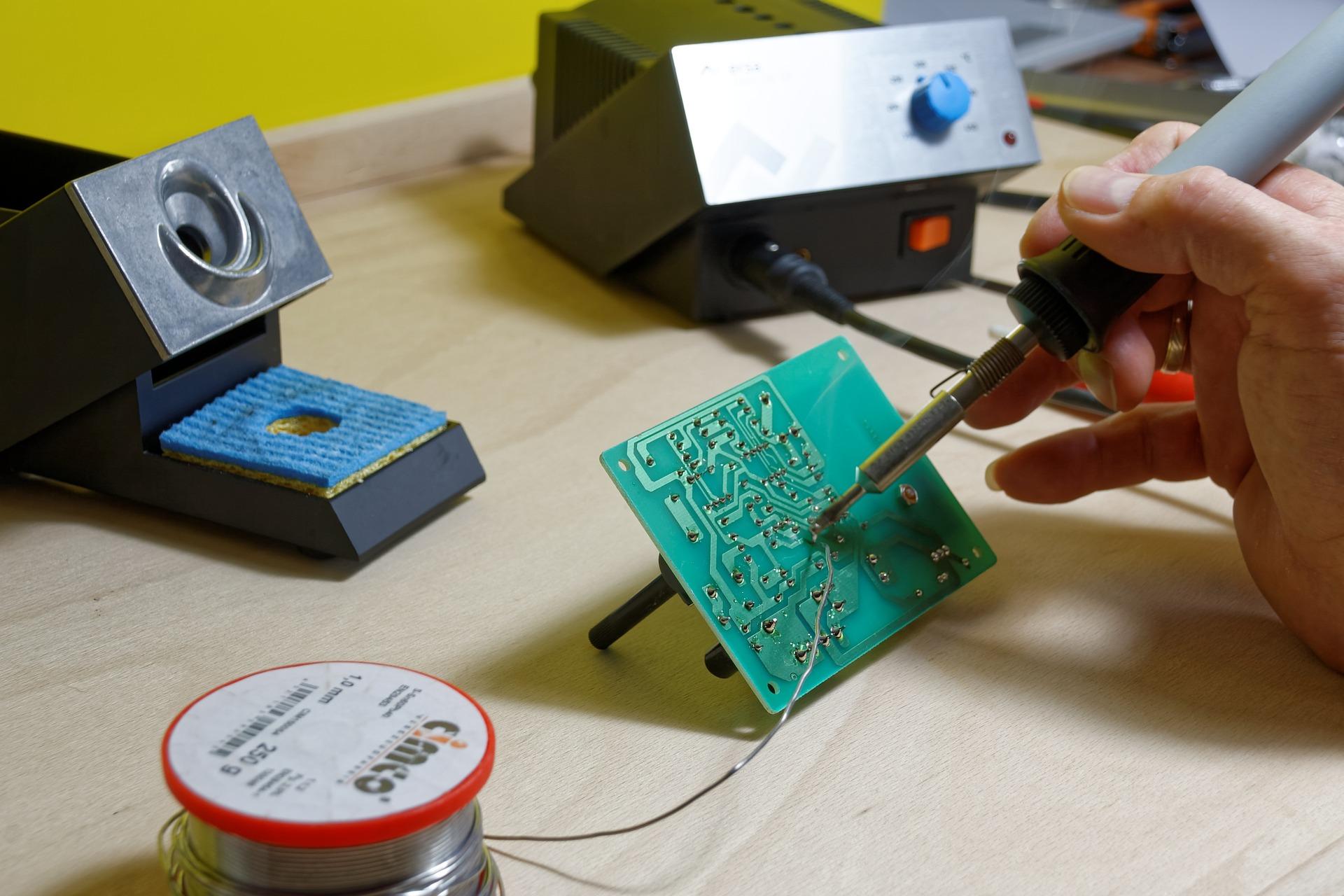 mejor estaño para soldar electronica, soldador de aire, estacion soldadura smd